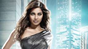 Bipasha Basu In Black Shine Dress Looking Front Photoshoot